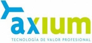 logotipo AXIUM