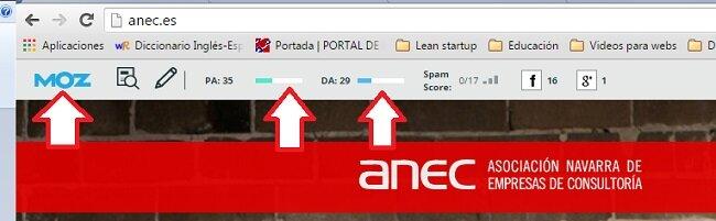 Escribir en el blog de ANEC moz