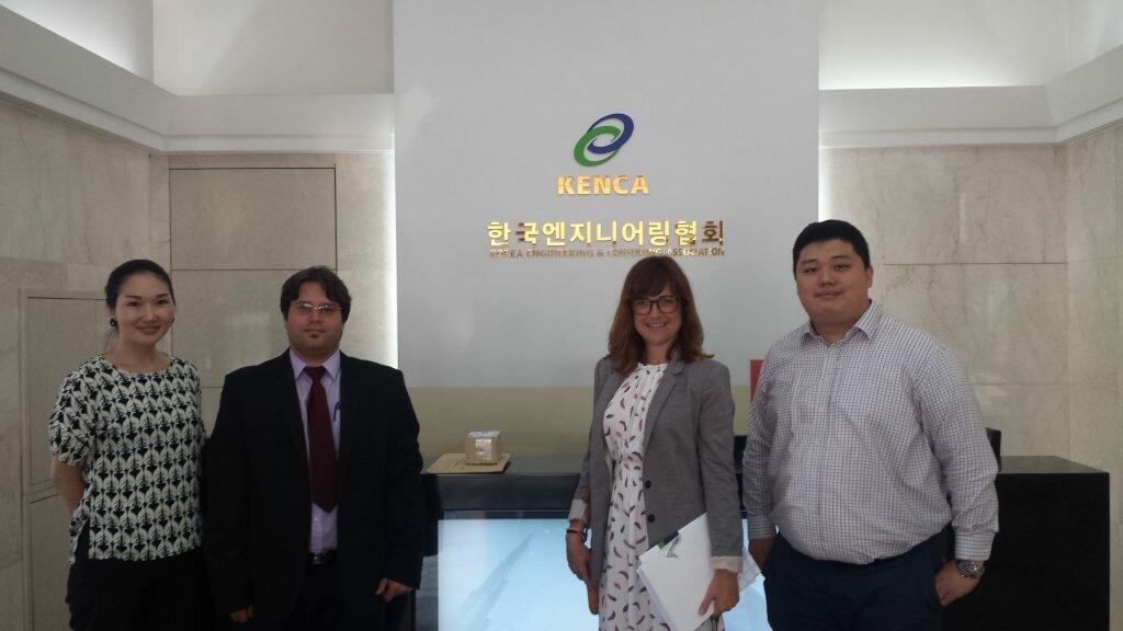 Kenca sondeo oportunidades anec en Korea