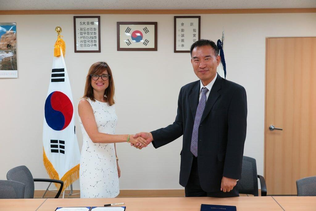 Acuerdo empresarial Navarra Corea