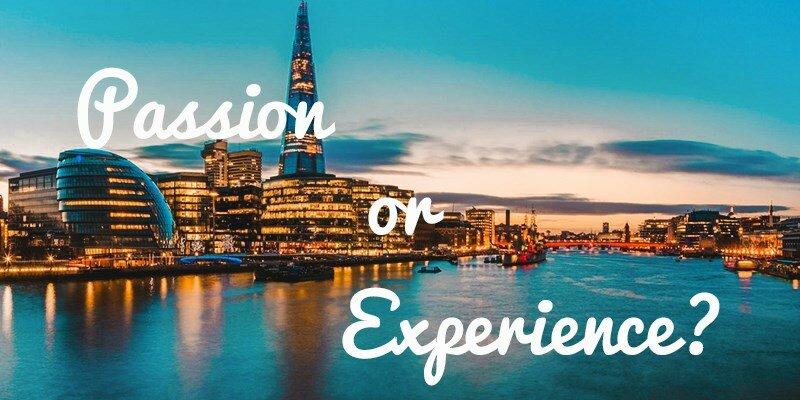 Pasión o experiencia, ¿qué es mejor para tu empresa?